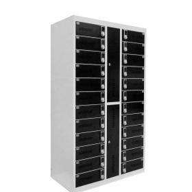 Safelock 24 Keypad - Profi-Schließfach-Ladeschrank mit digitalen Ziffernschlössern